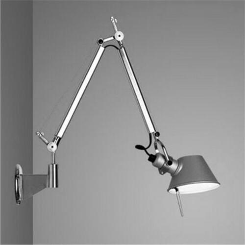 Adjustable Modern Long Arm Wall Plug-In Wall Sconce Lighting