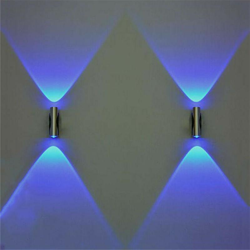 1Pair Double-Headed LED Wall Lamp Home Sconce Bar Porch Wall