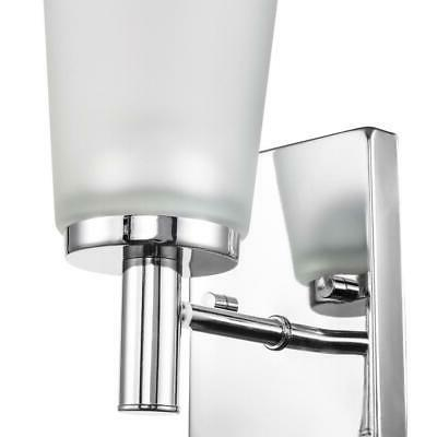 Chrome Frosted Glass 51520