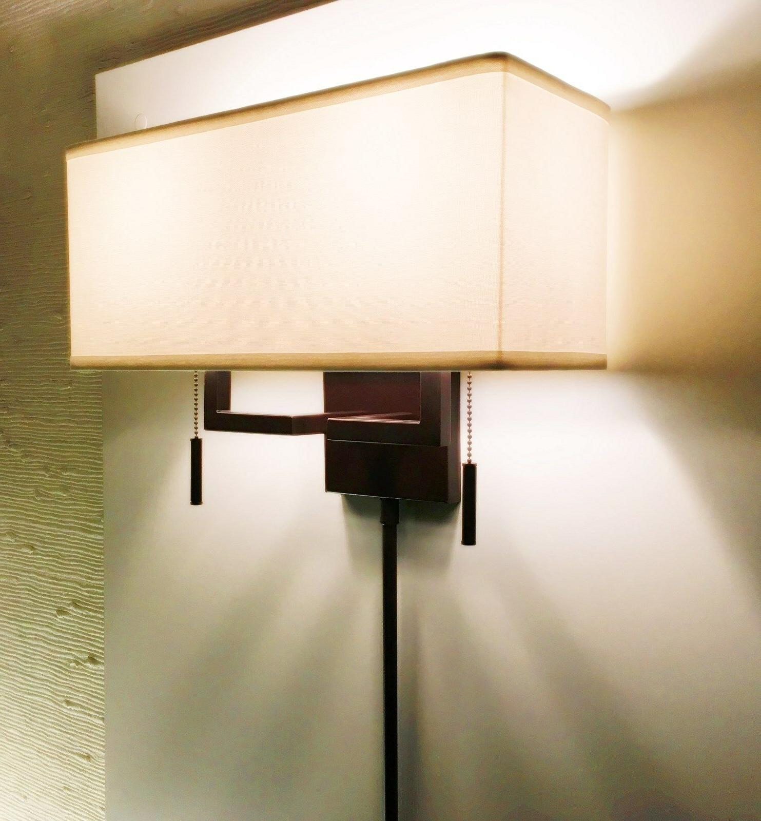 Arch.Bronze Modern Sconce Light or Plug-In