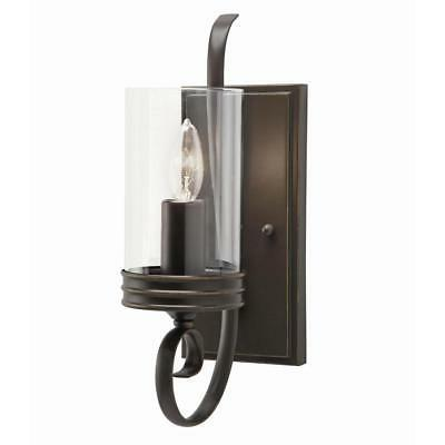 Kichler Arm Wall Sconce Diana 4.72-in W 1-Light Olde Bronze