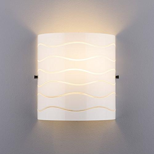 Avellina 1 Sconce Carved Opal - Linea di LL-WL828