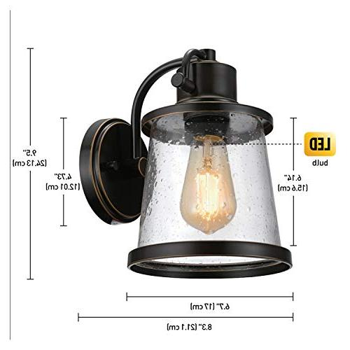 Globe Electric Oil Rubbed Bronze Outdoor with
