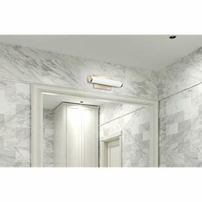 Contemporary Brushed LED Decorative Wall