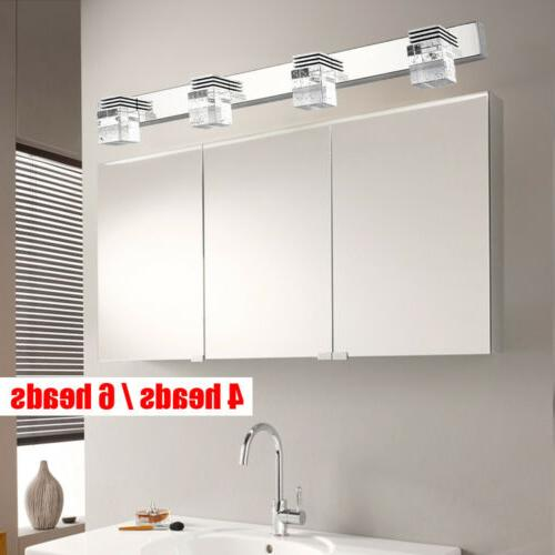 Modern Crystal Mirror Front Sconce