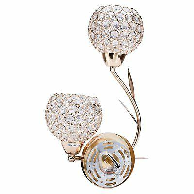 Lightess Crystal Wall Sconces Light