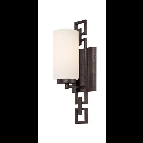 Designers Fountain Del Ray 1-Light Flemish Bronze Interior I