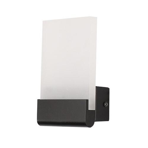 Dimmable/N 6W LED White/Black Shell