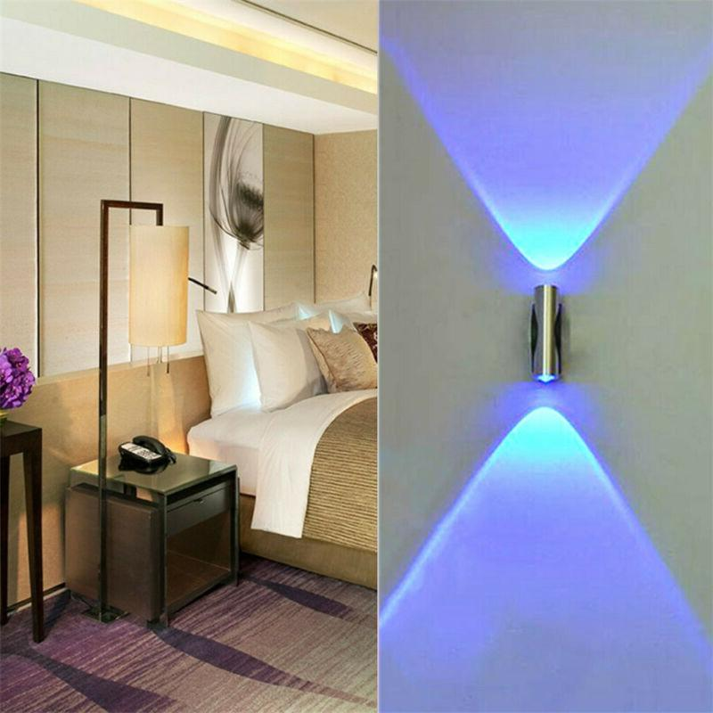 Modern Exterior Wall Up & Down LED Light Sconce Wall Lamp Fi
