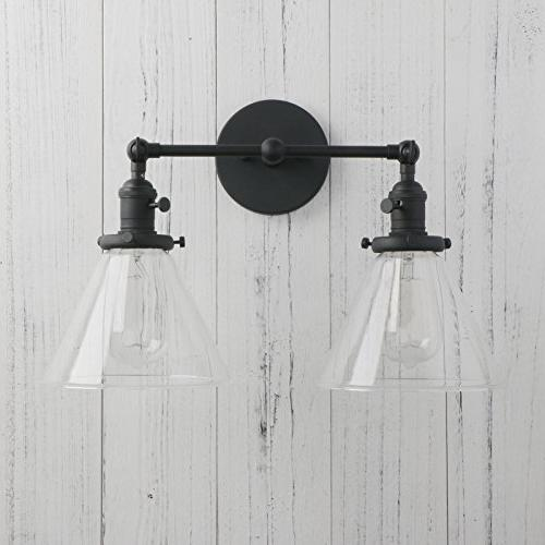 Permo Sconces Glass Clear Glass Shade
