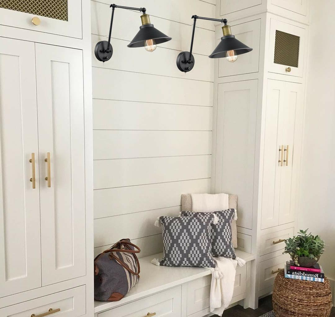 Double Light with Sconce Set
