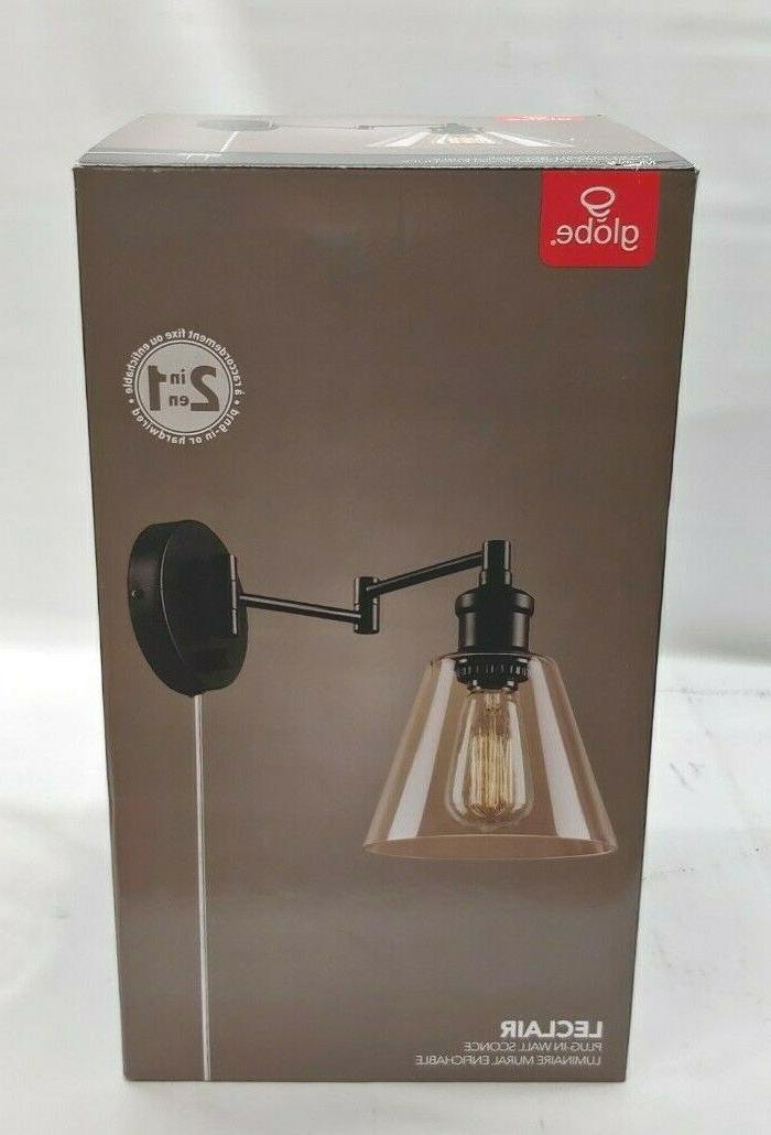 electric leclair 1 light plug in or
