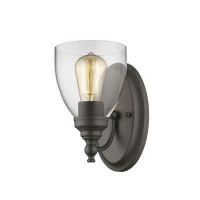 CHLOE Lighting ELISSA Transitional 1 Light Rubbed Bronze Ind