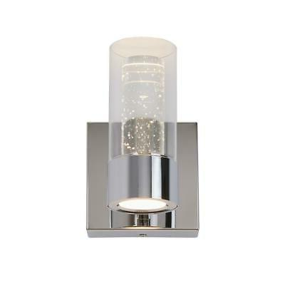 essence 4 3 in chrome led sconce