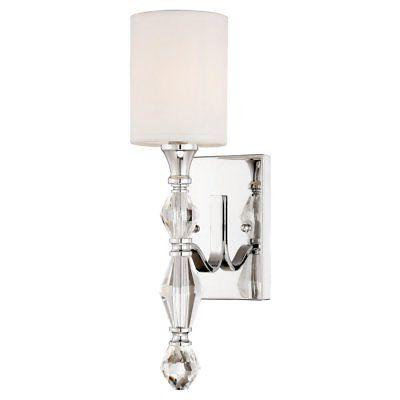 evi 89901 ch wall sconce