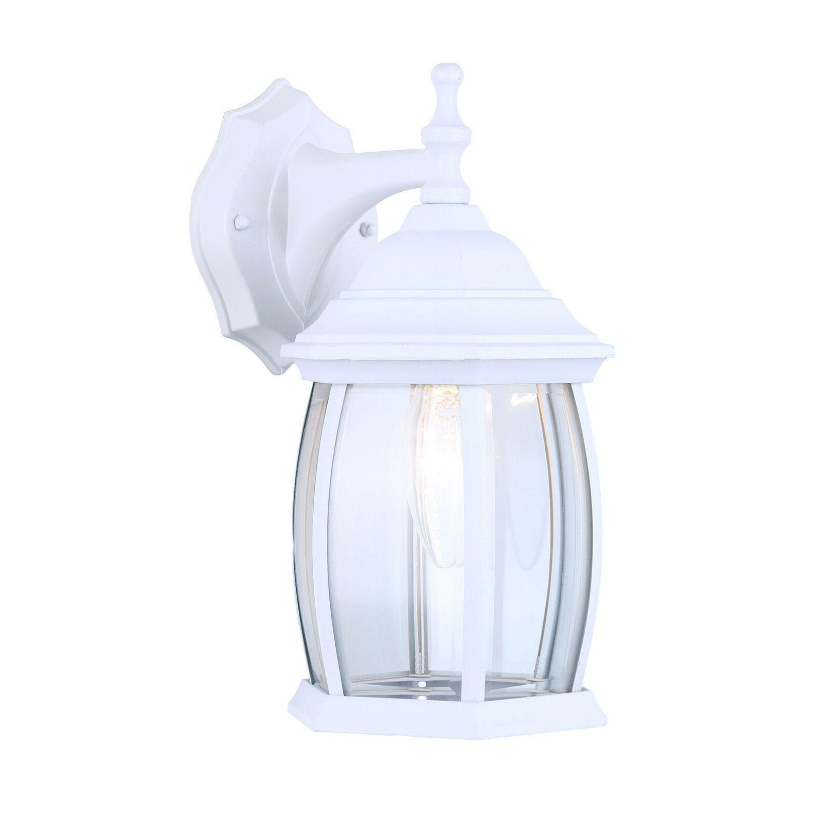 exterior outdoor light fixture wall lantern sconce