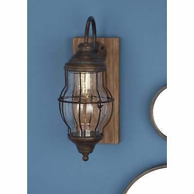 Operated Wall Sconce Brown