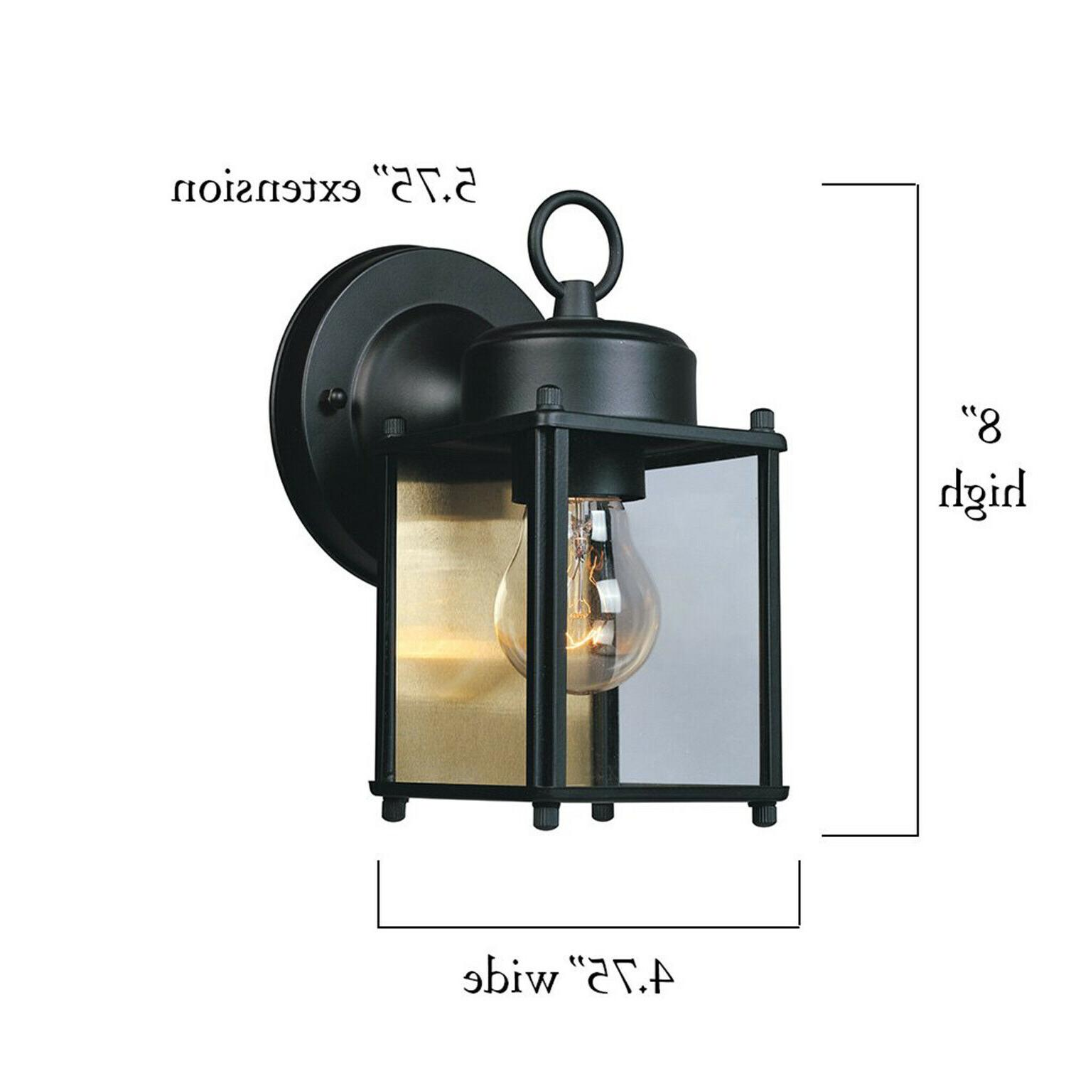 Front Porch Outdoor Fixture Exterior Wall Mounted Lantern