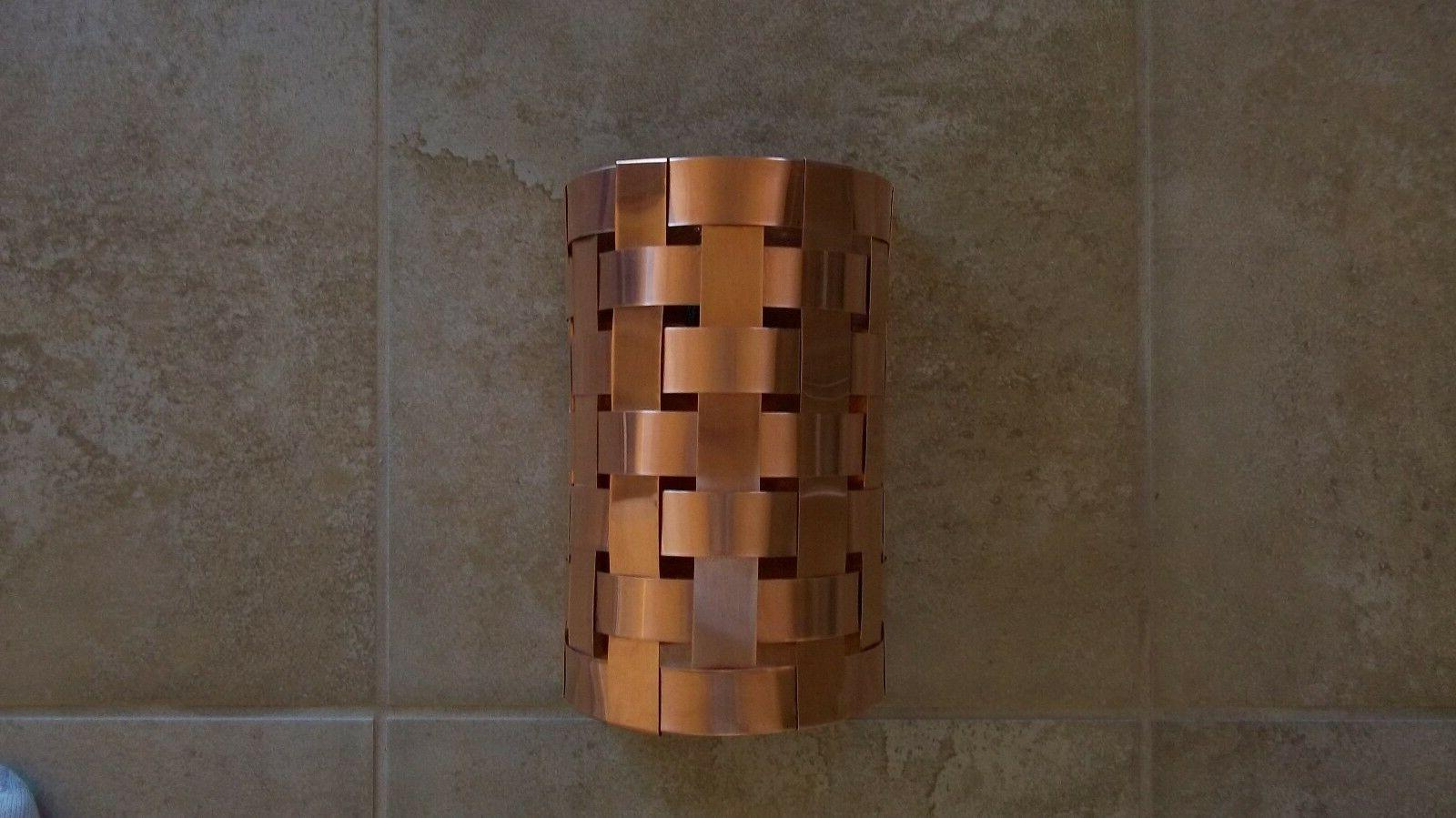 Hand crafted Weave Light Fixture