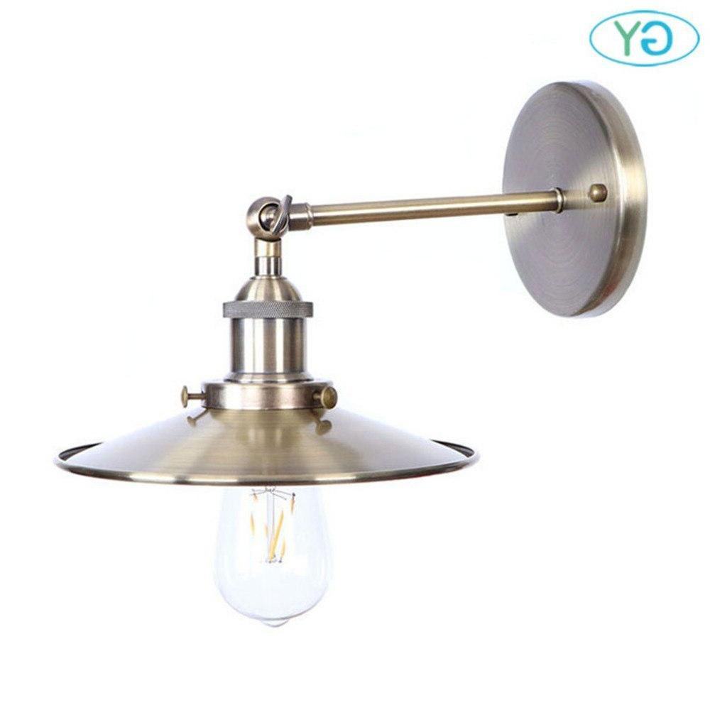 Hardwire Industrial <font><b>Sconce</b></font> Light with for Home,