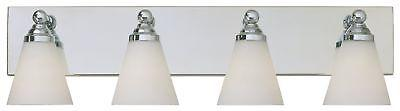 hudson chrome bath vanity wall sconce w
