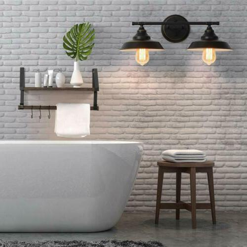 Industrial Bathroom Vanity Light Wall Sconce Lamp Makeup Mir