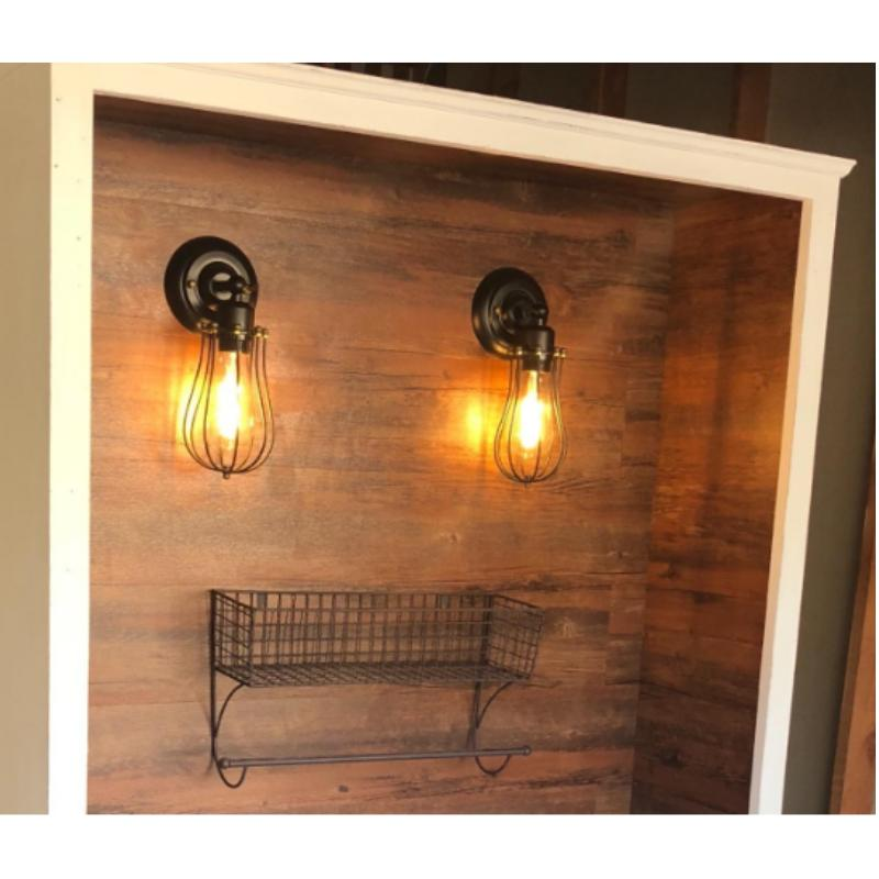 Industrial Outdoor Sconce Pcs Vintage Dimmable