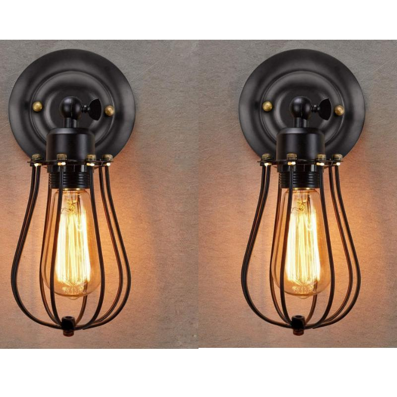 Industrial Wall Light Sconce Pcs