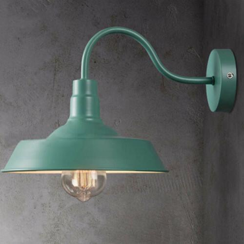 Retro Industrial Gooseneck  Wall Sconce Barn Wall Lamp with