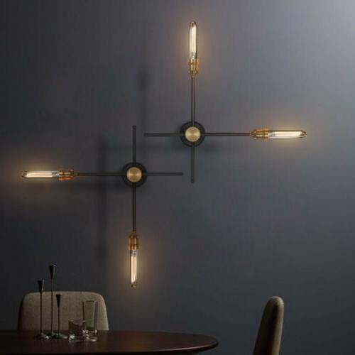 industrial rotating wall light aisle stair wrought