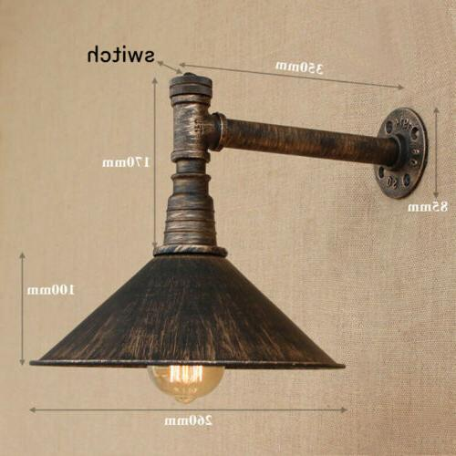 Industrial Metal Wall Wall Light