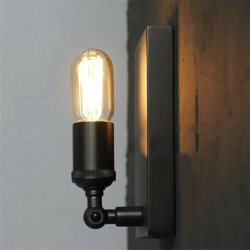 Industrial Square Wall Sconce Lamp Indoor Porch Wall Light