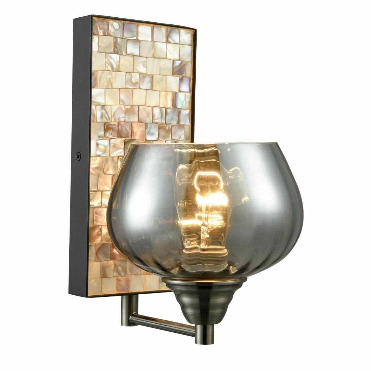 industrial wall light glass wall sconce lighting