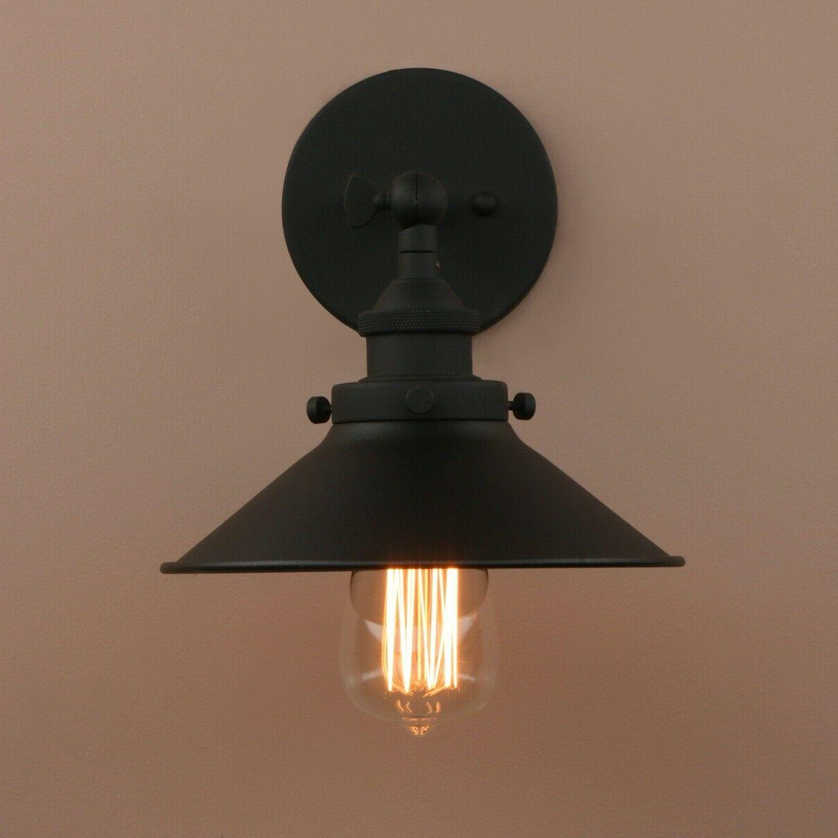 Industrial Sconce Shade Vintage Farmhouse Light Fixture E27