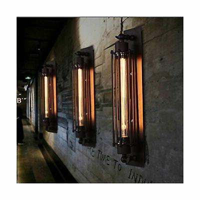 Pauwer Industrial Light Cage Wall Bla...