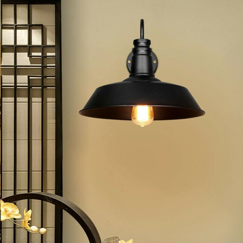 Retro Style Outdoor Wall Light with Metal