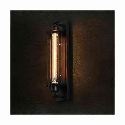 Pauwer Wall Sconces Set 2 Cage Wall Black