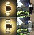 NEW Modern Aluminum LED Wall Light Up Down Indoor Outdoor Sc