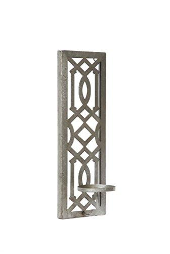"""Hosley 17"""" Iron Wall Pillar Antique Ideal Special and Use in Spa, Gardens"""