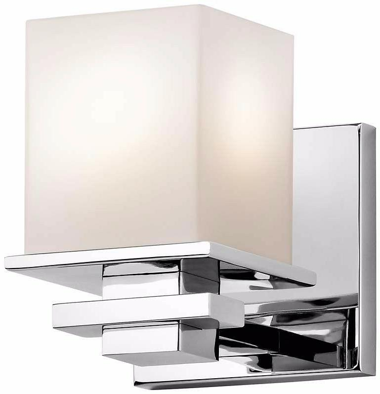 Kichler 45149CH Tully Wall Sconce In Chrome - New
