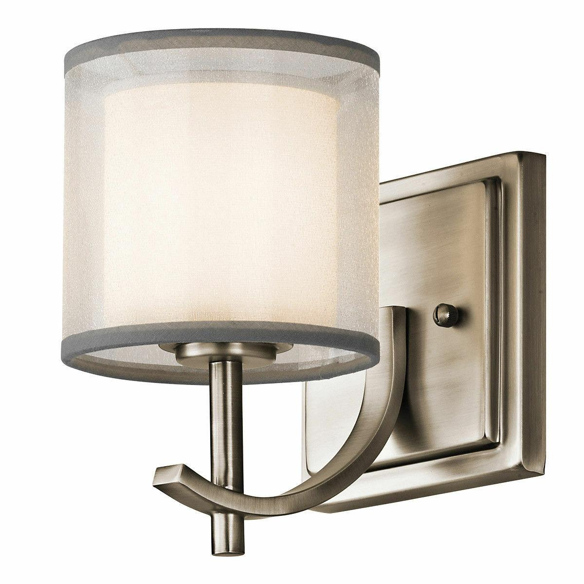 kichler 45449ap tallie wall sconce antique pewter