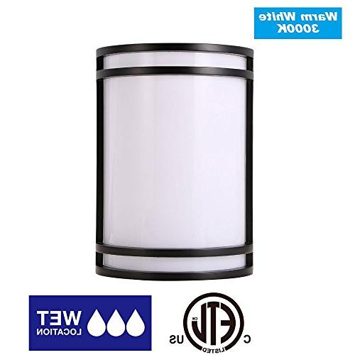 lcows715830orb wall sconce warm white