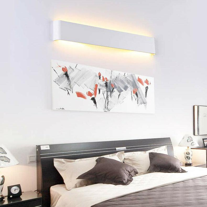 LED Acrylic Lamp Mirror Fixture Picture Lighting