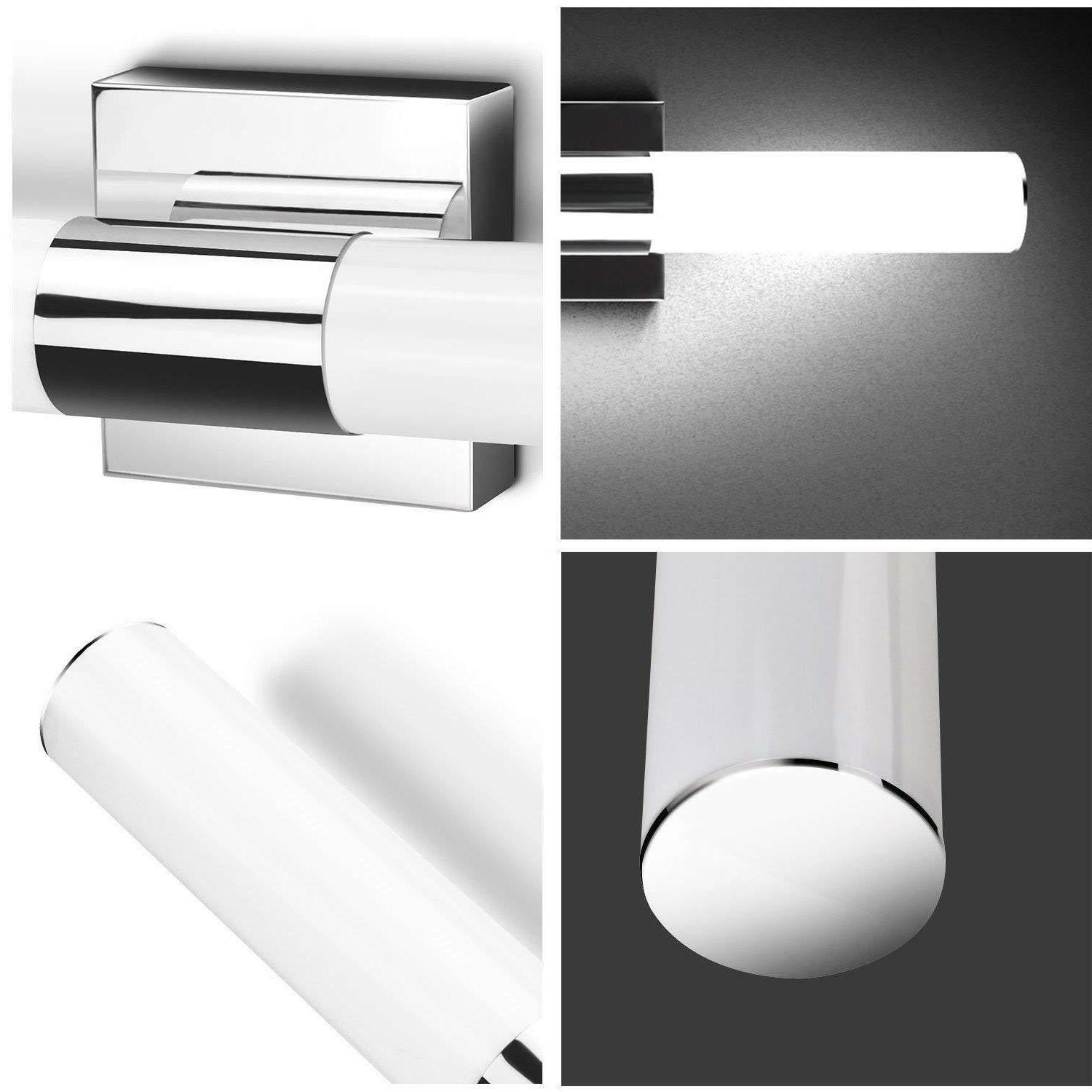 LED Modern Stainless Steel Sconce 12W