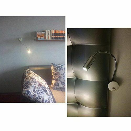 Lysed Wall Lamp,3W Warm White,Wall Light Sconce