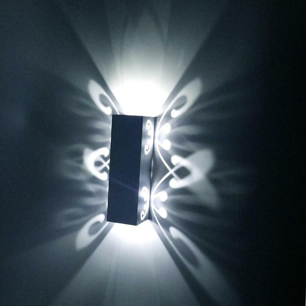 LED Up Lighting Hall Bedside Lamp Fixture US