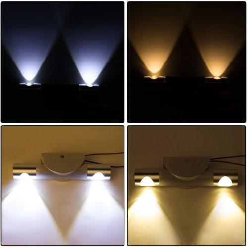 LED Wall Light Up Down Sconce Lighting Lamp Fixture Indoor O
