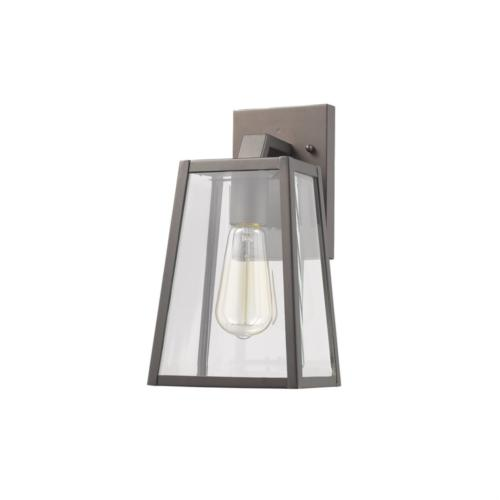 LEODEGRANCE Transitional 1 Light Rubbed Bronze Outdoor Wall