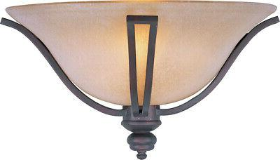 Maxim Lighting Madera Oil Rubbed Bronze Wall Sconce w/ 1 Lig