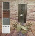 Mason Jar Sconces, Wood Wall Decor for Hanging Greenery, Flo